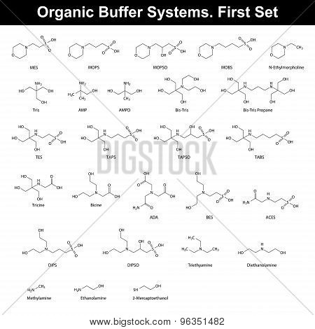 Organic Buffer Agents