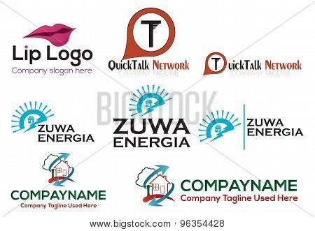 Business logo set  - EPS format available.
