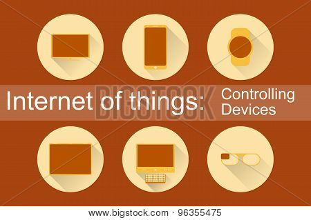 IoT - Controlling Devices Icons