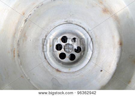 old drain