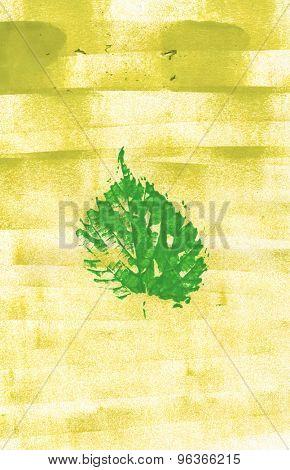 paint leaf