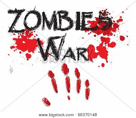 The word zombie war