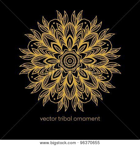 Mandala. Ethnic decorative elements.Vector illustration