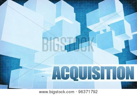 Acquisition on Futuristic Abstract for Presentation Slide