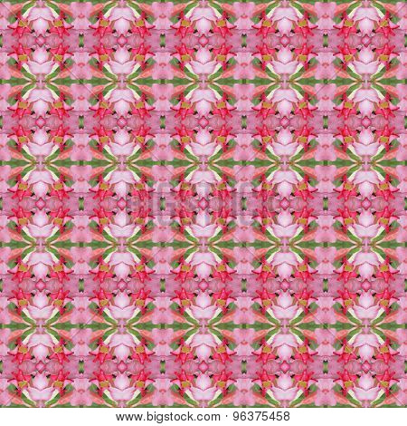 Pentagram Flowers Seamless