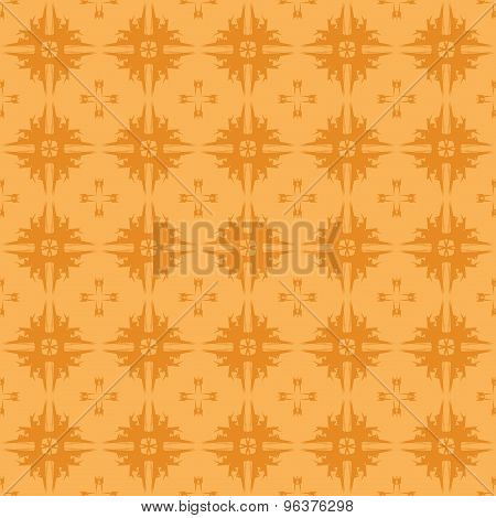 Mosaic tiles Abstract geometric seamless pattern vector.
