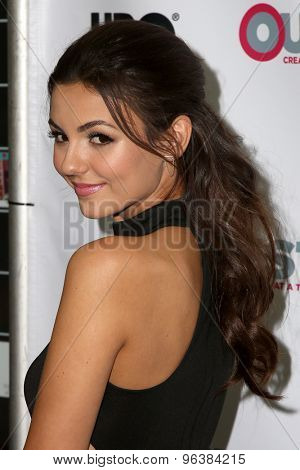 LOS ANGELES - JUL 17:  Victoria Justice at the