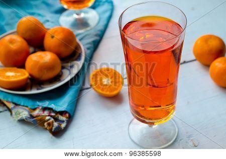 Tangerine tea