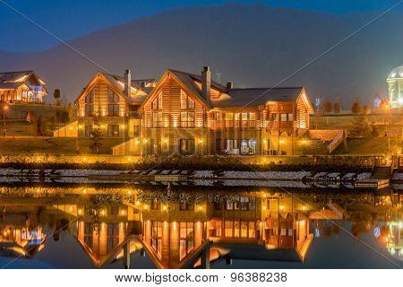 Nice modern house near lake