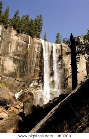 Cascada en Yosemite