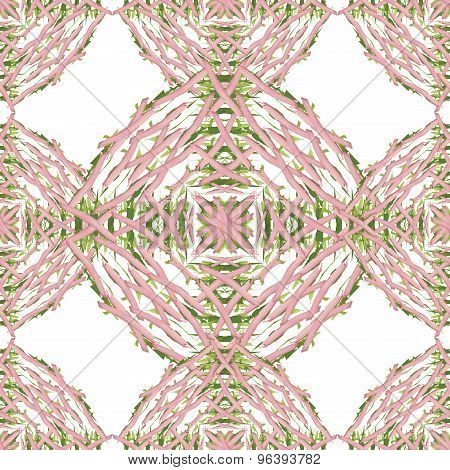 Seamless vector abstrct tiled ornament.
