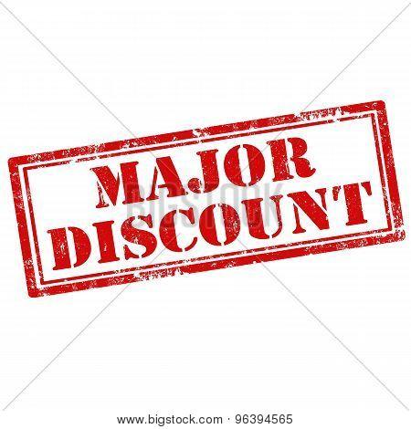 Major Discount