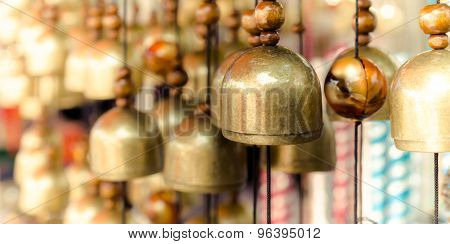 Brass Bells in the temple