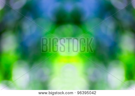 Blurred Lights  Bokeh Abstract Light Background