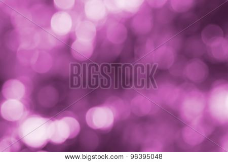 Blurred Lights Circular Bokeh Abstract Background