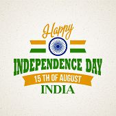 pic of indian independence day  - Creative Indian Independence Day concept - JPG