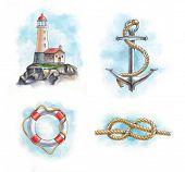 foto of anchor  - Lighthouse - JPG