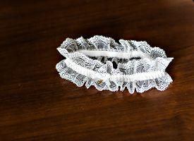 picture of garter-belt  - Beautiful wedding  bridal garter - JPG