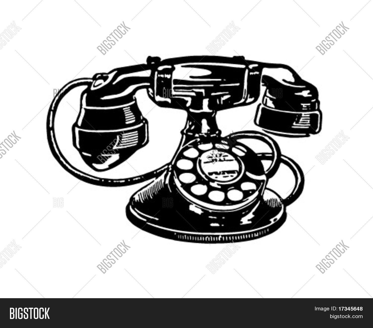vintage telephone clipart - photo #23