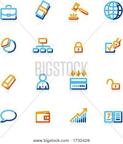 Contour Business Icons