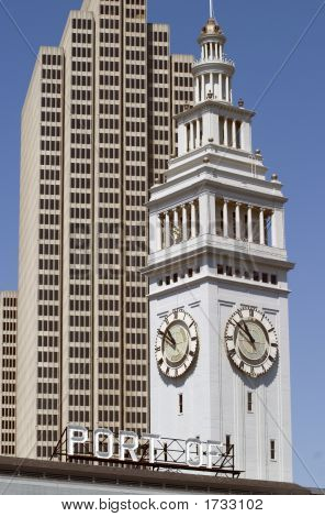 Building And Clock Tower