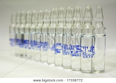 Ampoules with drug