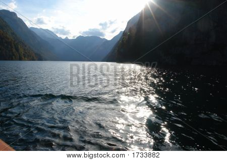 Koenigsee ( Lake In South Germany )