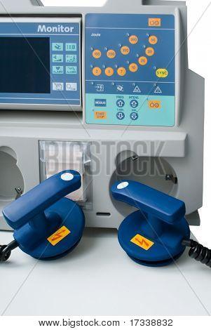 Defibrillator in ER