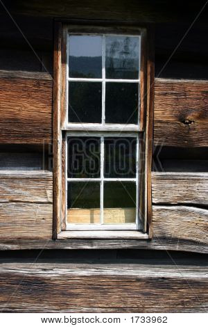 Window - Log Cabin