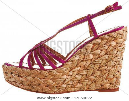 fashion woman summer shoes