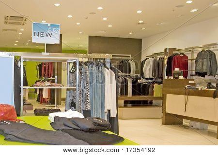 tienda de vestido de la manera