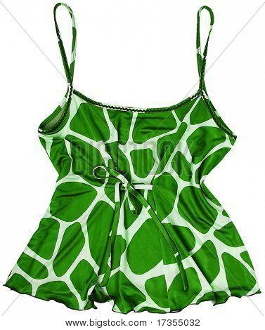 spotty leopard woman fashion blouse