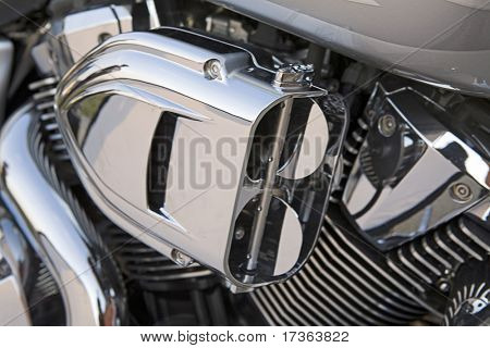 exhaust motorcycle motor engine