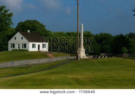 Dunker Church At Antietam Battlefield