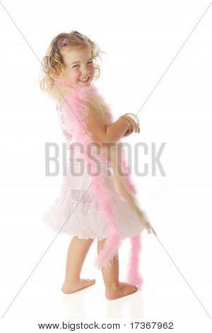 Hübsch In einem Petticoat