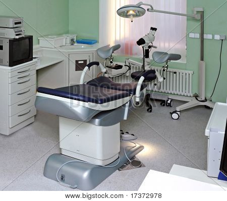 interior de la clínica