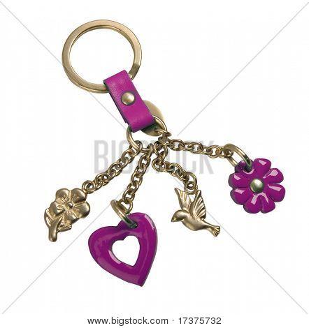 golden keychain