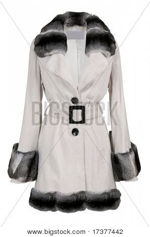 women fur coat