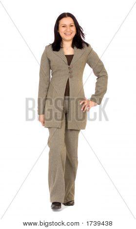 Business Woman Walking