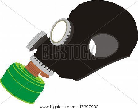 Zuverlässige Gasmaske