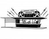 Root Beer Stand - Retro Clip Art