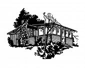 foto of log cabin  - Simple Cabin  - JPG