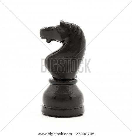 chessman isolated on a white background