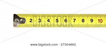 measuring tape fragment
