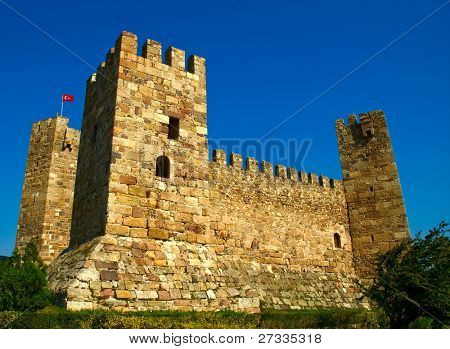 15th century Ottoman castle in Turkey