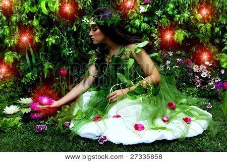 die verzauberte Garten und Märchen