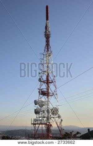 Torre das telecomunicações