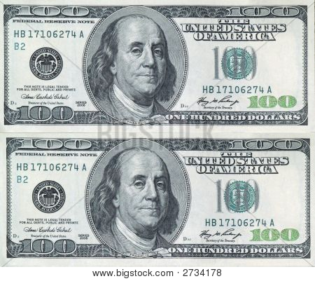 2 -100 Dollar Bills
