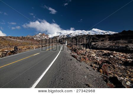 Road To Mount Ruapehu
