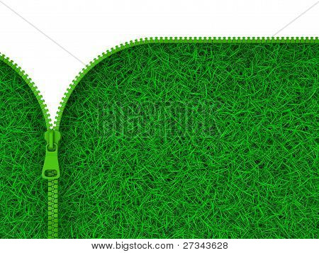 Zipped Grass